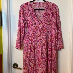 Lily Pulitzer Papaya Print Dress